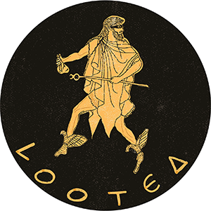 Looted Logo of Hermes